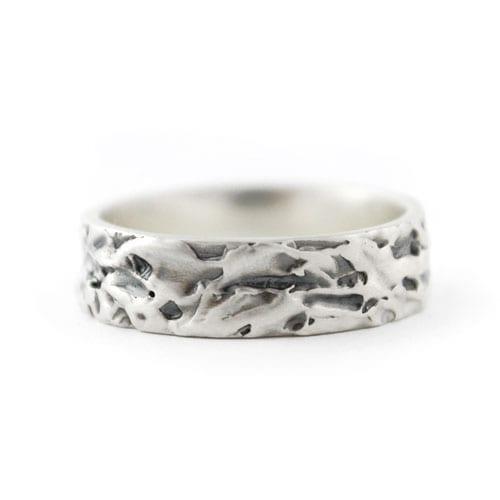 alianza de plata compromiso, anillo de plata