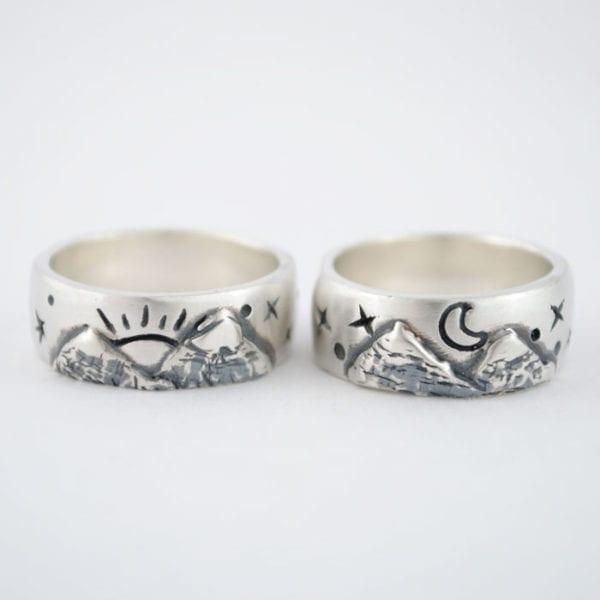 Alianza de plata, Montañas, Sol y Luna